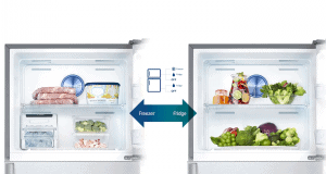 Samsung RT38K5435S9 conversie congelator frigider
