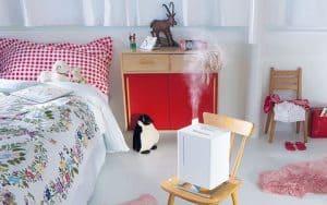 Umidificare in dormitor