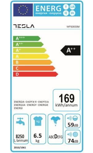 Tesla WF60830M clasa energetica consum curent