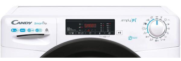 Masina de spalat rufe cu uscator Candy Smart Pro CSOW 4855TB 1-S panou