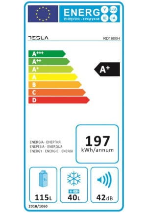 Tesla RD1600H consum energie clasa