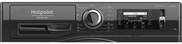 Masina de spalat rufe Hotpoint NLCD945BSAEUN panou
