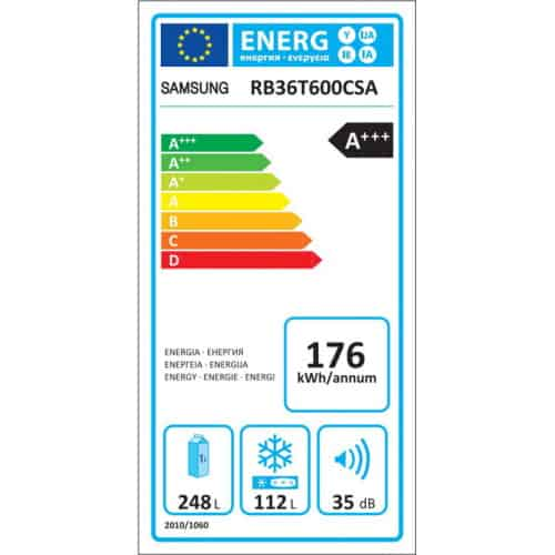 Samsung RB36T600CSA EF consum curent electric