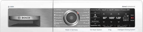 Bosch WAV28EH0BY programe si functii